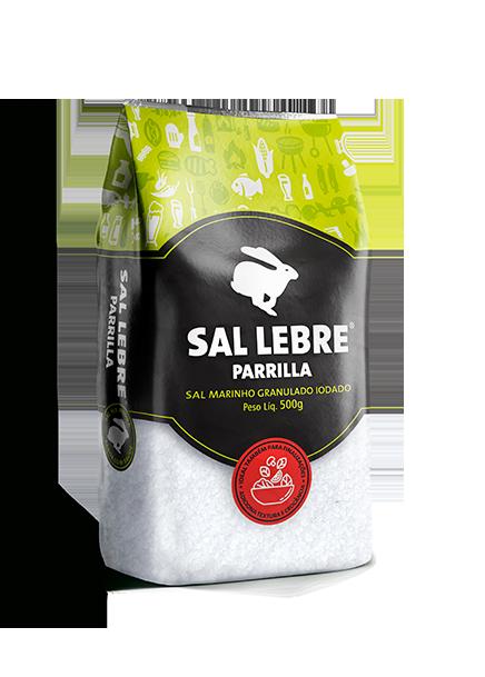 Sal Lebre gourmet para parrilla
